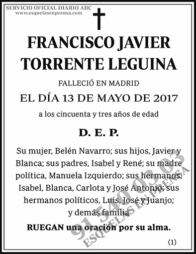 Francisco Javier Torrente Leguina